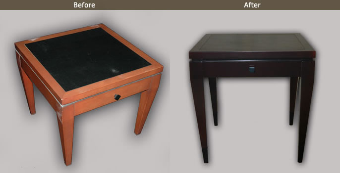 Furniture Refinishing Example