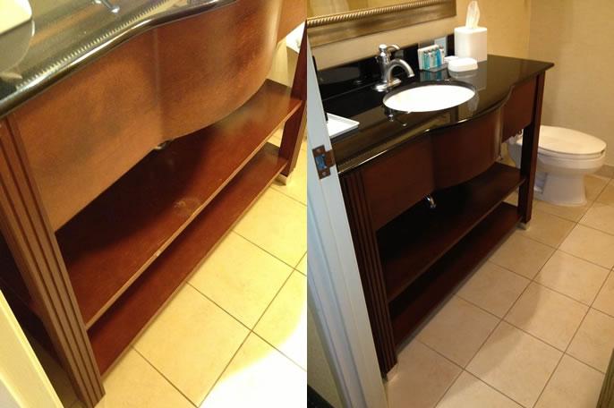 Furniture Refinishing Example
