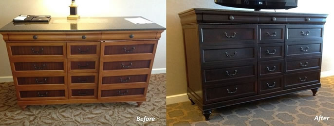 Hotel Furniture Refinishing Hotel Furniture Re Upholstery By The