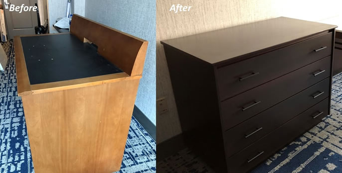 GA Tech Dresser