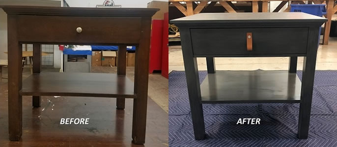 Before and After Nightstand