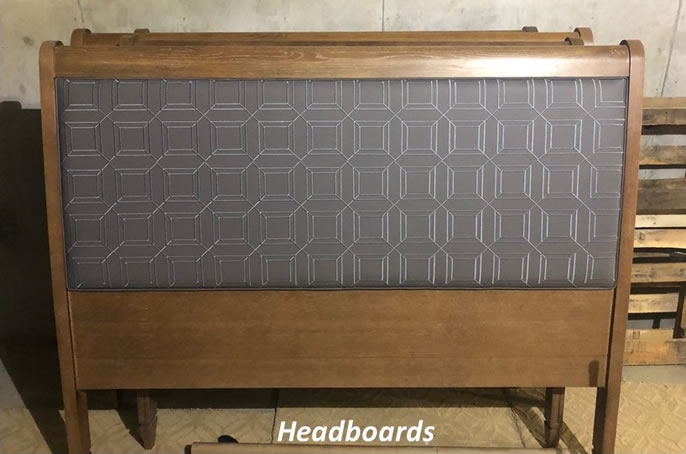 Reupholstered Headboards